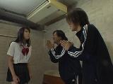 女子高生のWちんぽフェラ 12