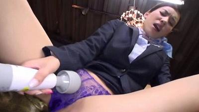 パンチラ淫語挑発オナニー 4