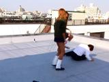 ガングロ★コギャル女子校生 リンチ★リンチ★ダンス 完全永久保存BAN 4